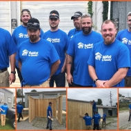 TMMK M&E building a shed for Habitat for Humanity in KY