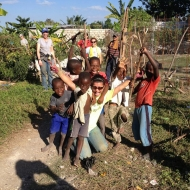 Donna Chaffin volunteers several weeks each year in Grand Goave, Haiti.